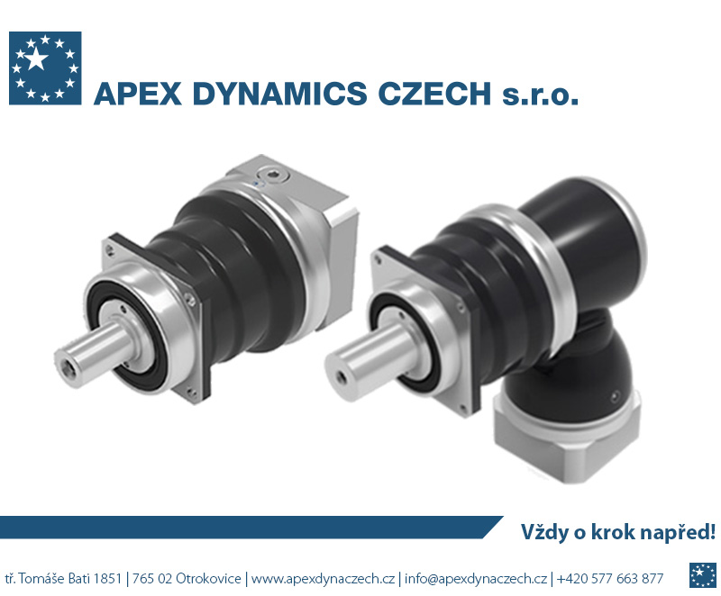 APEX DYNAMICS CZECH – High Precision Gearboxes